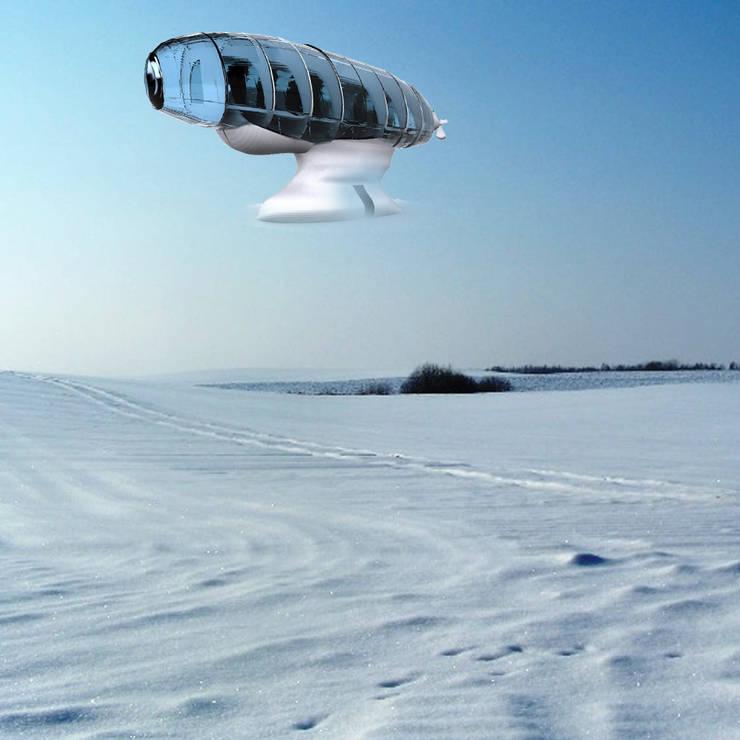 Personal Heaven z możloiwością unoszenia się w powietrzu: styl , w kategorii Jachty i motorówki zaprojektowany przez izabela jaroszek,Nowoczesny