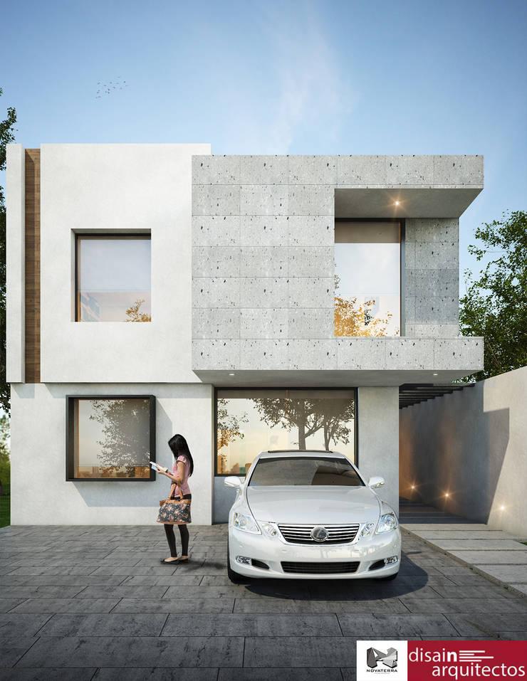 Casa Kiambe Novaterra: Casas de estilo  por disain arquitectos
