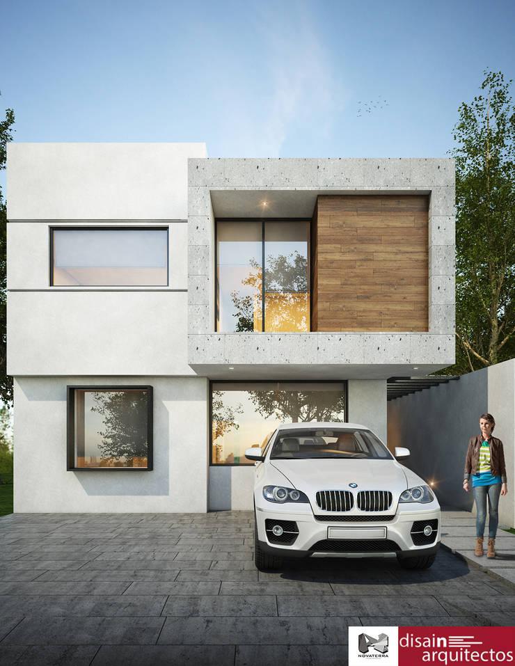 Casa Makira Novaterra: Casas de estilo  por disain arquitectos