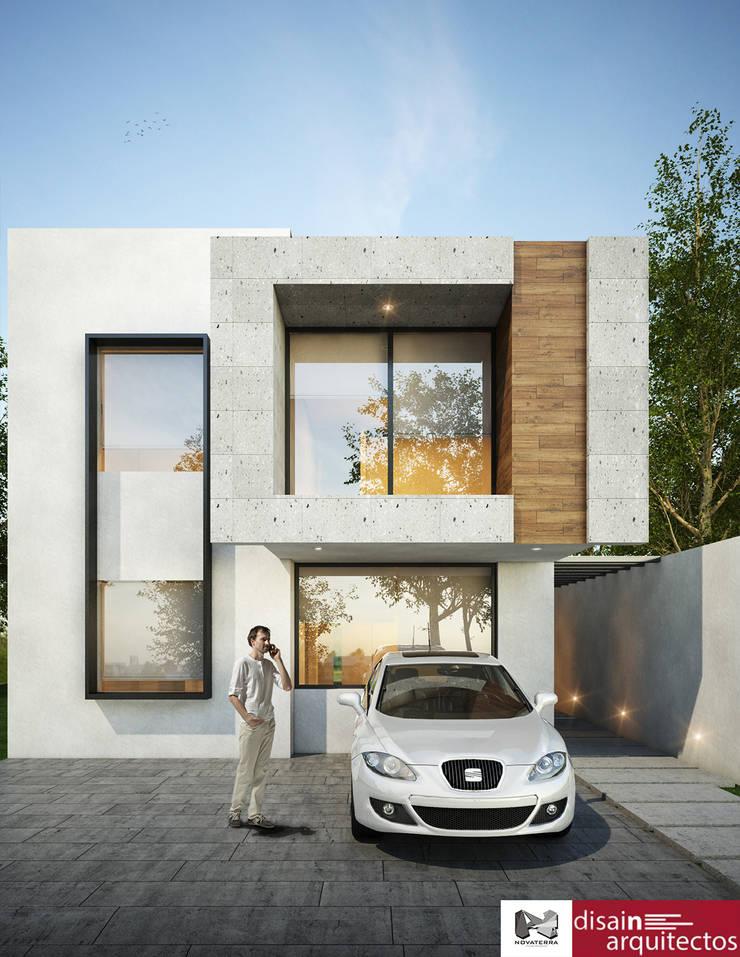 Casa Buka Novaterra: Casas de estilo  por disain arquitectos