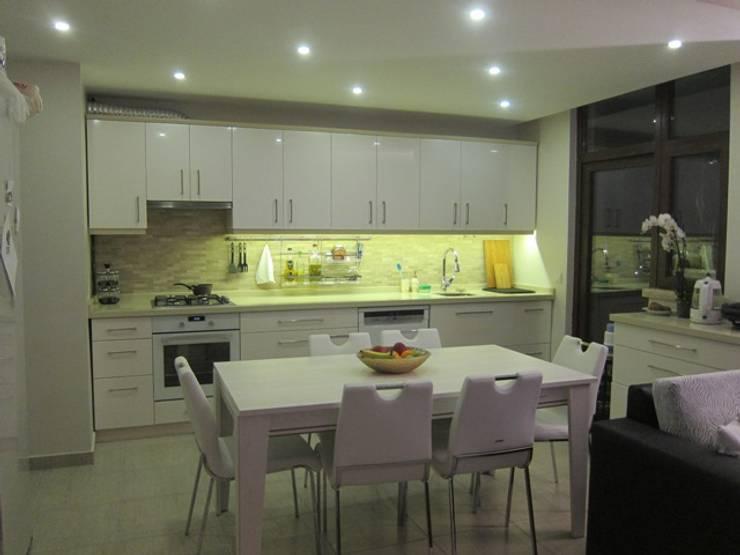 YALÇIN MİMARLIK & DEKORASYON – MUTFAK: modern tarz Mutfak