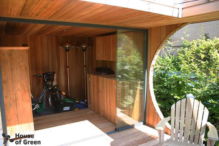 Vakantiehuis in eigen tuin:  Tuin door House of Green