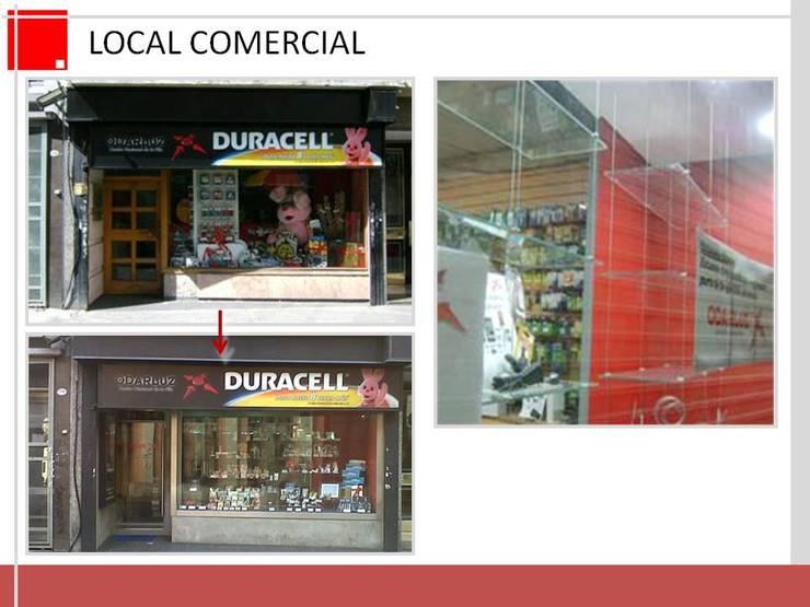 remodelacion de local comercial:  de estilo  por Remodelaciones SF
