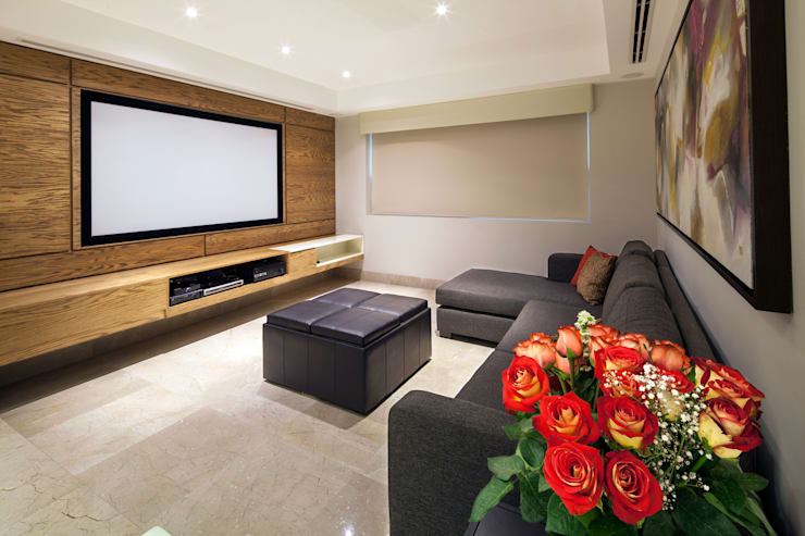 modern Living room by NZA