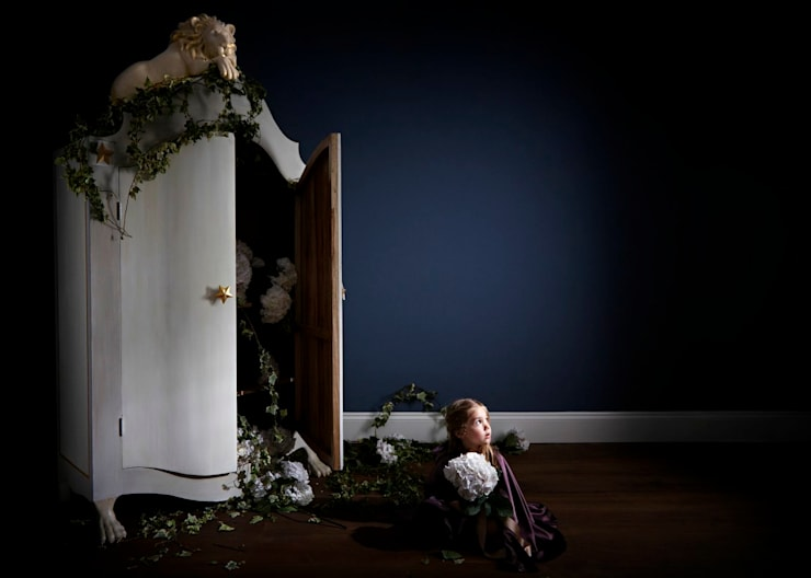Lion Wardrobe: eclectic Nursery/kid's room by Adorable Tots