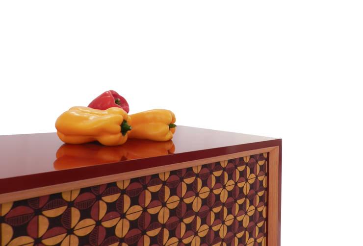Aparador Veredas: Sala de jantar  por NS|Studio,