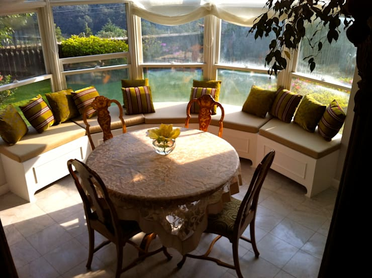 غرفة السفرة تنفيذ Erika Winters® Design, إنتقائي