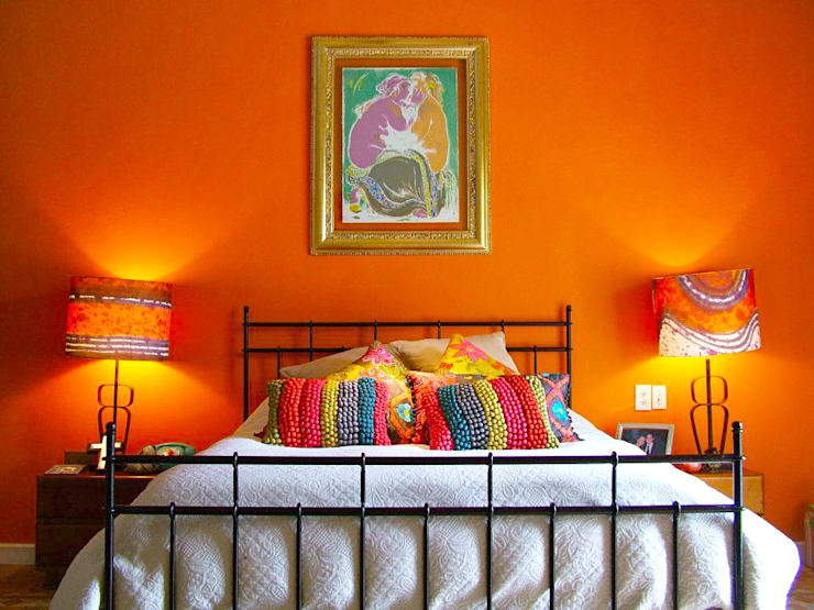 eclectic Bedroom by Erika Winters® Design