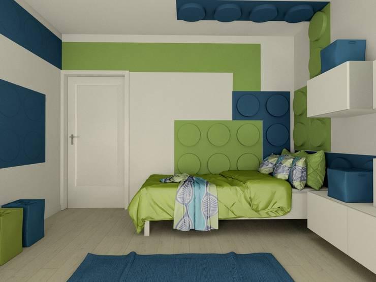 Nursery/kid's room by FLUFFO fabryka miękkich ścian