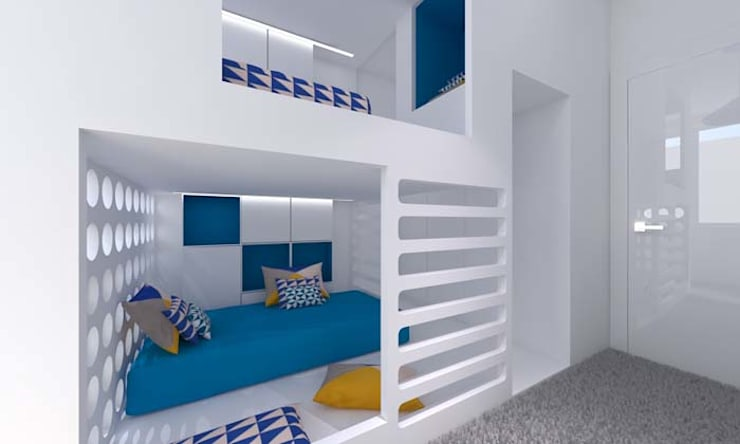 Nursery/kid's room by A+A