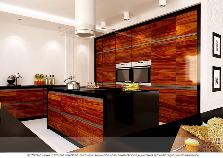 Kuchnia: styl , w kategorii Kuchnia zaprojektowany przez A  ATELIER, Autorska Pracownia Architektury Artur Turant
