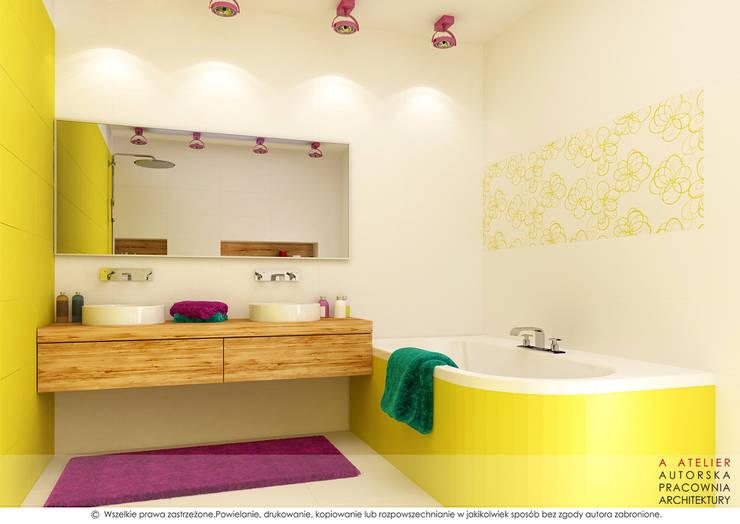 A  ATELIER, Autorska Pracownia Architektury Artur Turant의  욕실