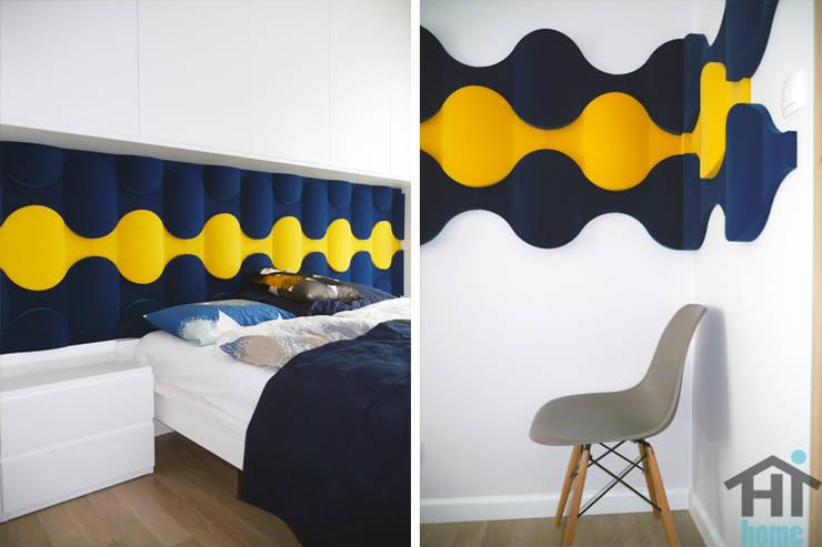 Fluffo Flow 2.0 - sypialnia: styl , w kategorii Sypialnia zaprojektowany przez FLUFFO fabryka miękkich ścian