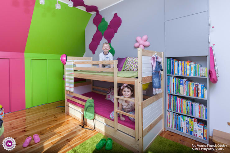 modern Nursery/kid's room by FLUFFO fabryka miękkich ścian