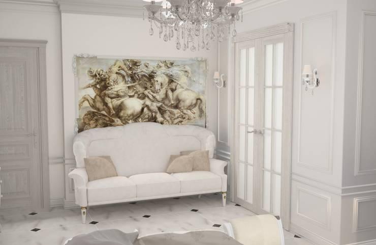 Спальня в стиле Барокко: Спальни в . Автор – DS Fresco
