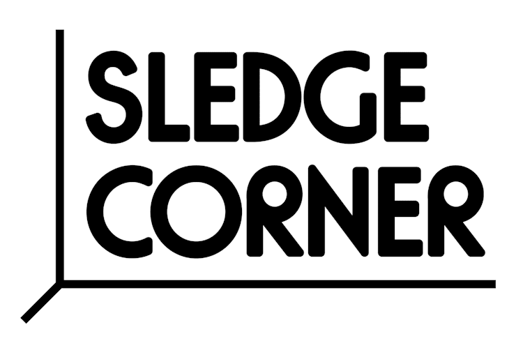 Logo Sledgecorner:   door KITSCH CAN MAKE YOU RICH