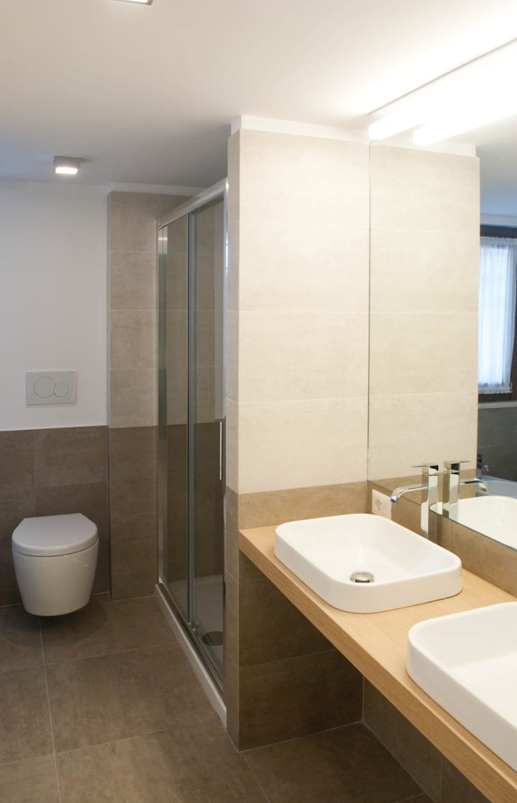 Progetto residenziale   Roma   Casale Selce – 2014: Case in stile  di ar architetto roma, Minimalista