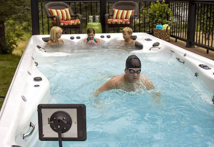 Swim Spas:  Spa by Master Spas