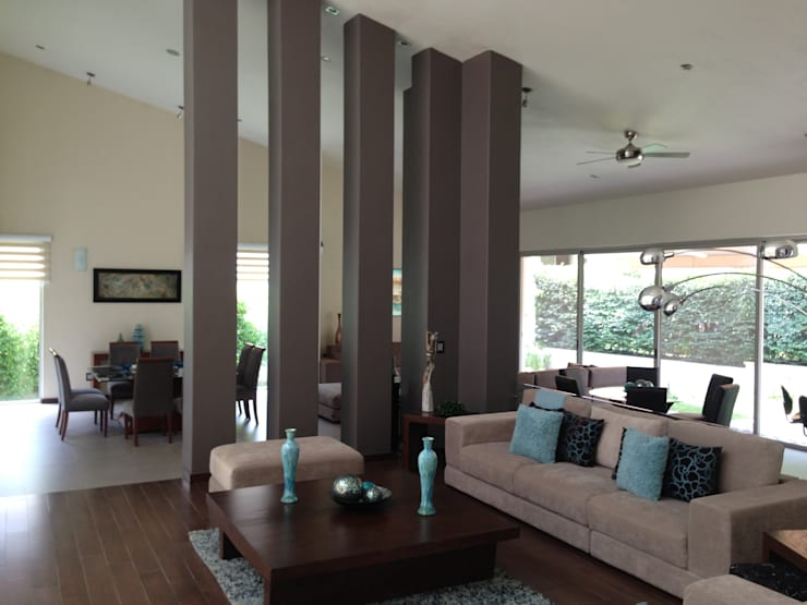 Salas de estilo moderno por Arki3d