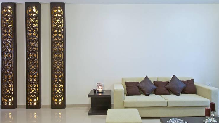 Salones de estilo minimalista de ZERO9