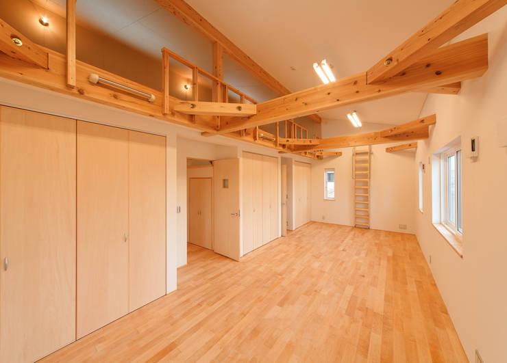 アスレチックハウス: matsuoが手掛けた子供部屋です。