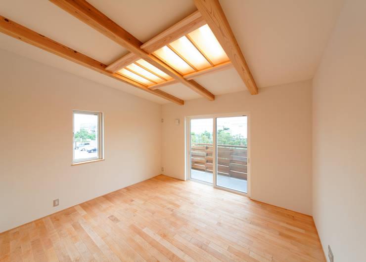 アスレチックハウス: matsuoが手掛けた寝室です。