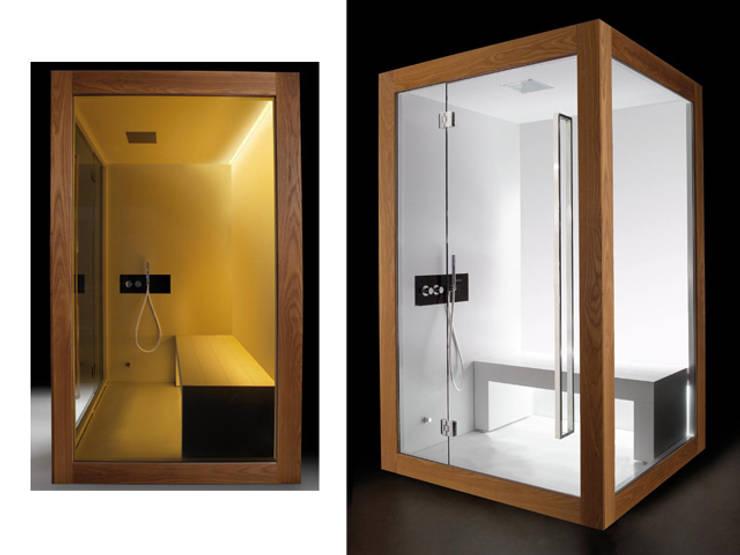 Home Collection: Matrix steam bath.: Spa in stile  di Carmenta s.r.l.