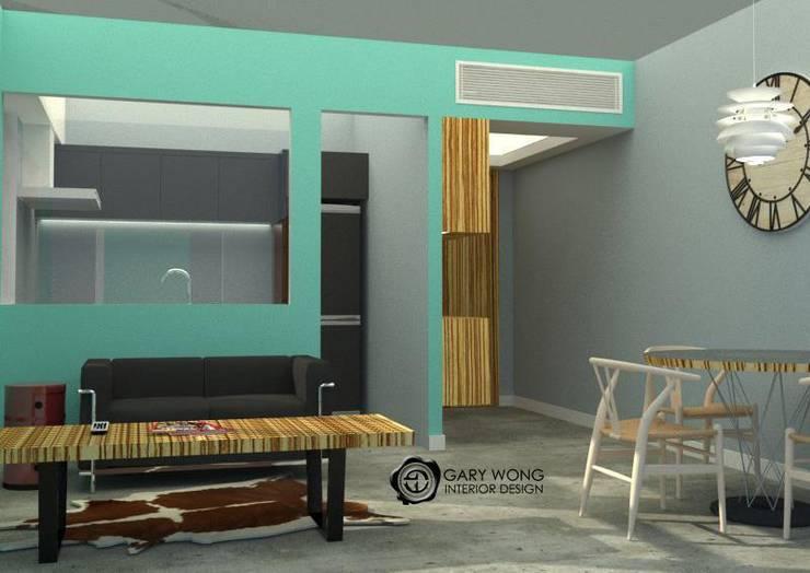 采頤花園:   by GARY WONG Interior Design