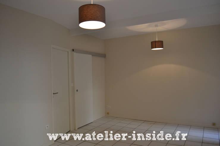 salon après:  de style  par Atelier Inside