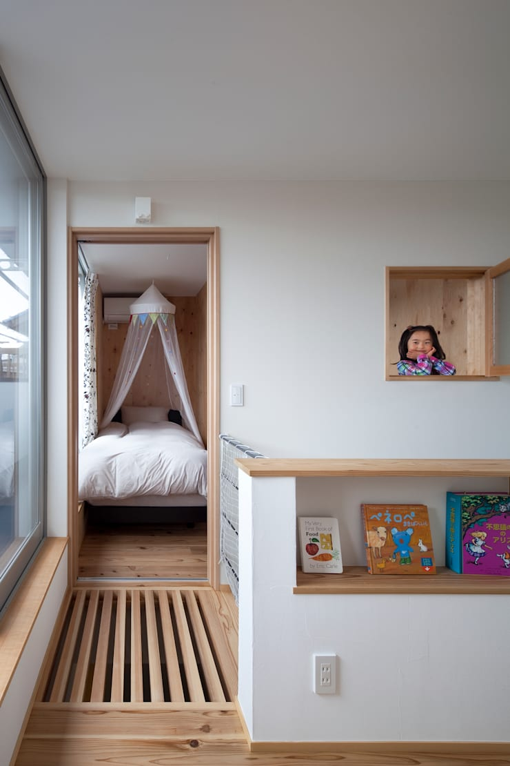 Nursery/kid's room by C lab.タカセモトヒデ建築設計, Eclectic