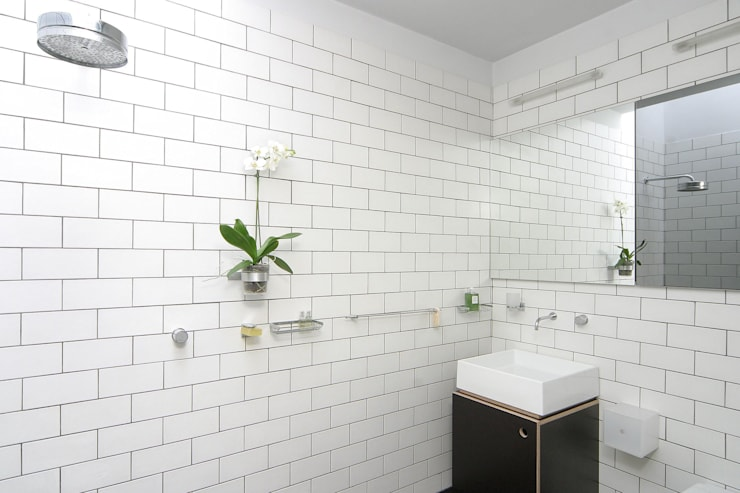 Salmon Lane—London:  Bathroom by Rural Office for Architecture