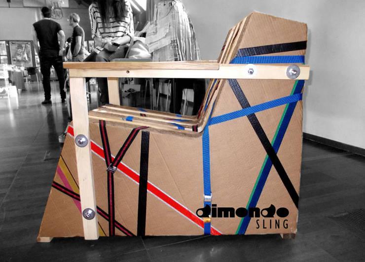 Sling Chair: Soggiorno in stile  di Dimondo Interior Design and Furniture