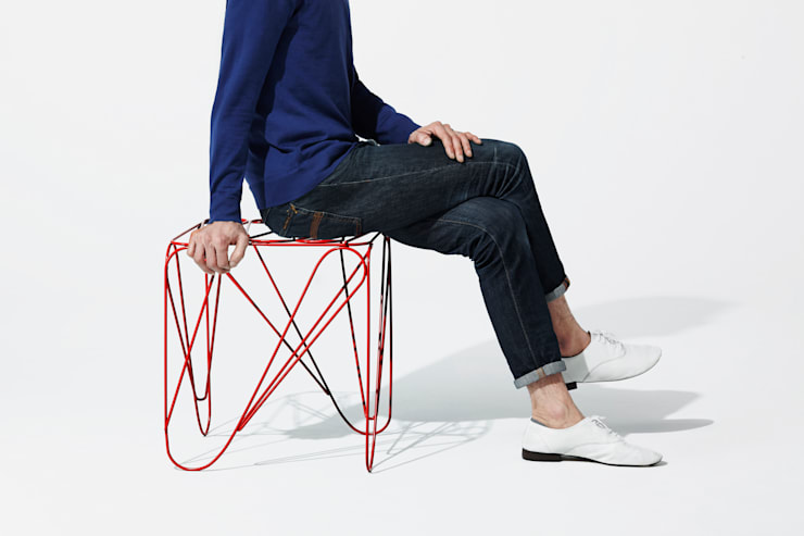ippon stool: Shinn Asano Design Co. ltd.が手掛けたです。,