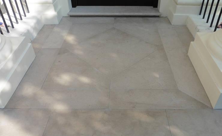 Dawson Place, Hopton flooring (external):  Terrace by Britannicus Stone