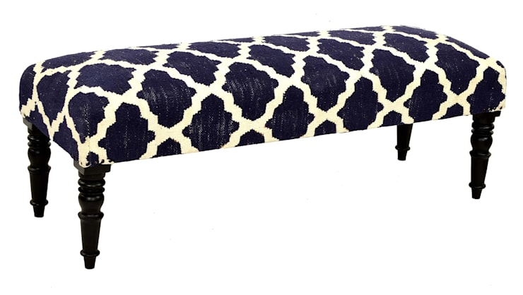 Moroccan Bench: classic  by Natural Fibres Export,Classic