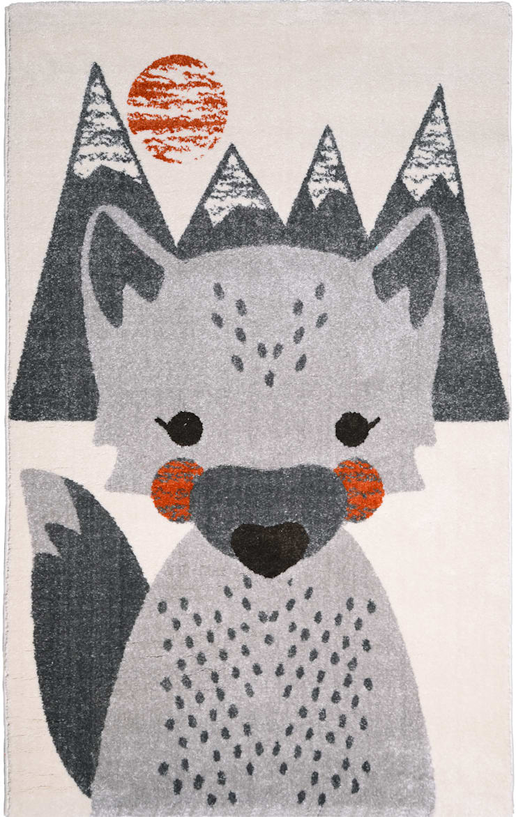 Tapis MR FOX: Chambre d'enfants de style  par NATTIOT