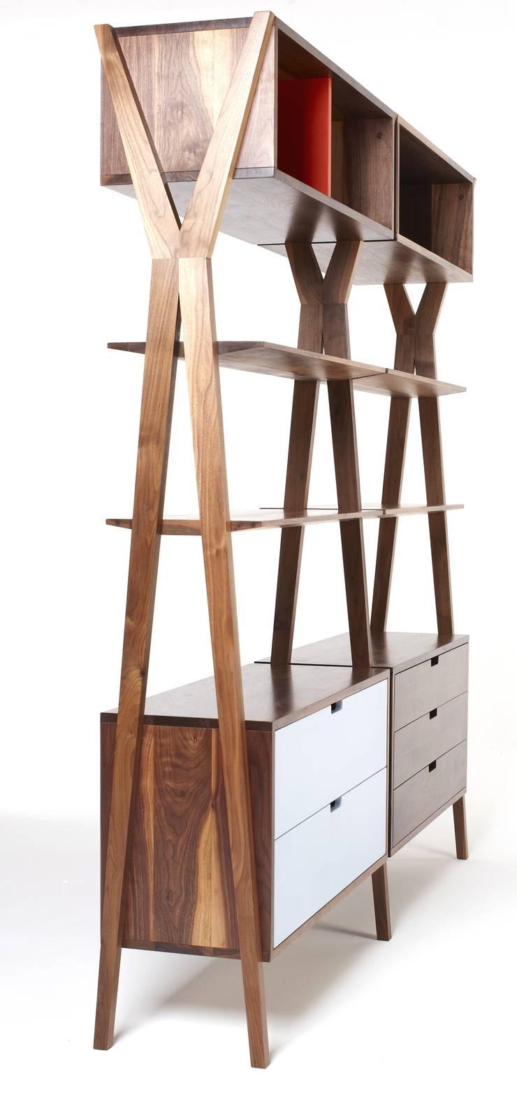 Dixon Modular Storage :  Living room by Dare Studio