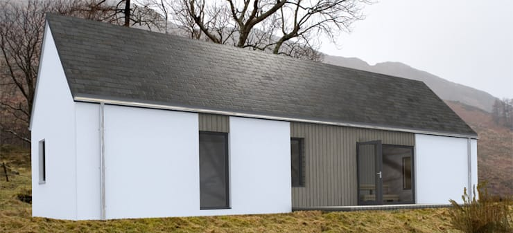 Accessible House:   by Hebridean Homes