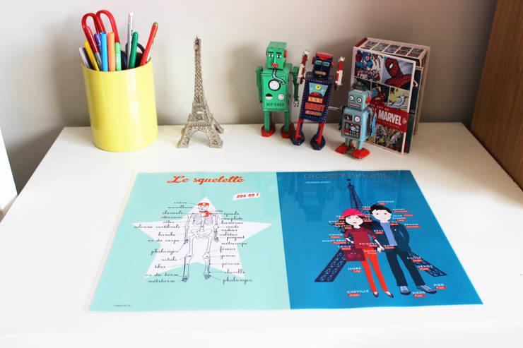 SOUS MAIN ÉDUCATIF: Chambre d'enfants de style  par A CAUSE DE TOI !