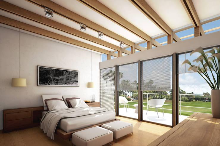 Habitaciones de estilo colonial por gOO Arquitectos