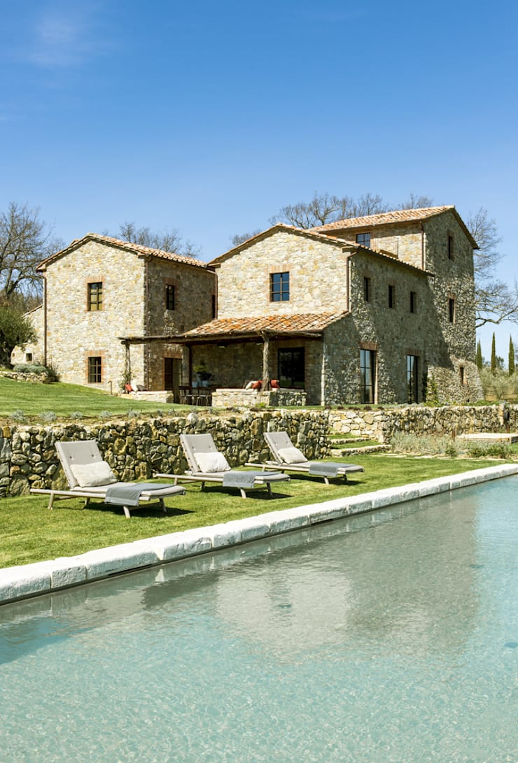 Houses by dmesure, Mediterranean