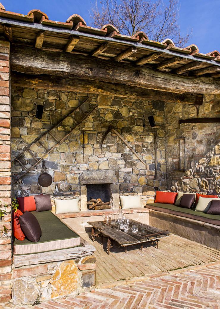 Patios & Decks by dmesure, Mediterranean