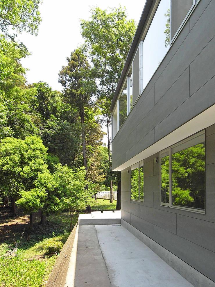 外観2: 小田宗治建築設計事務所が手掛けた家です。,