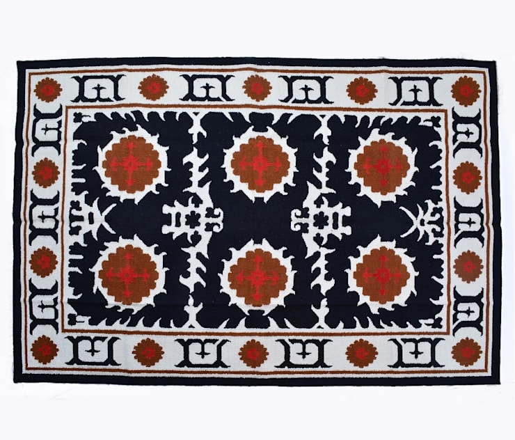 Kilim Suzani Rugs: classic  by Natural Fibres Export,Classic