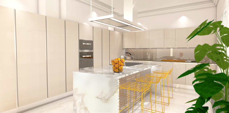 Kitchen by Outsourcing Interior Design