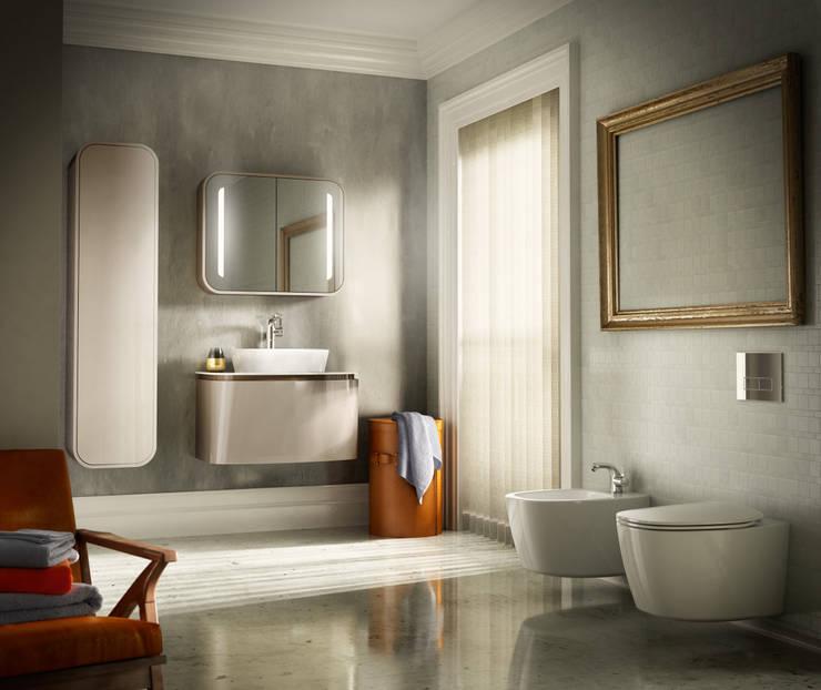 Composizione Dea: Bagno in stile in stile Moderno di ideal standard