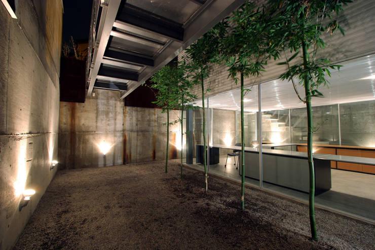 Casa Gracia: Jardines de estilo  por Gracia Studio