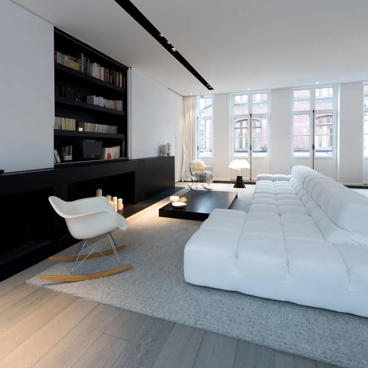 Projekty,  Salon zaprojektowane przez mayelle architecture intérieur design