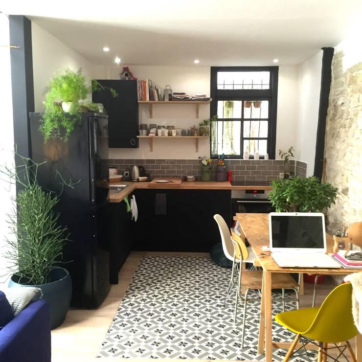 Projekty,  Kuchnia zaprojektowane przez Amandine Leblanc