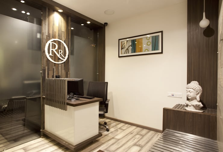 R.R.TELE SERVICES:  Office buildings by FUTURE SPACES ORGANISATION (FSO)